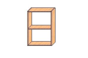 Верхние шкафы с навесами 720*500*300