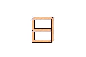 Верхние шкафы с навесами 720*600*300