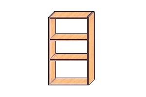 Верхний шкаф 850*500*300
